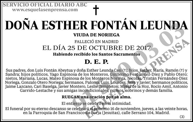 Esther Fontán Leunda
